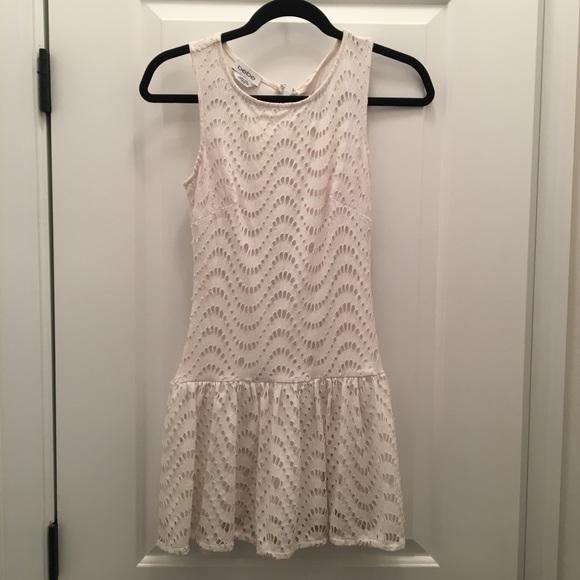 bebe Dresses & Skirts - White BeBe mini dress